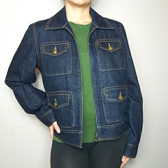Lauren Jean's Co. Retro denim jean jacket